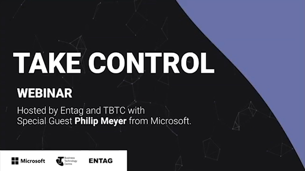 Take Control of Your Technology Microsoft E-vent